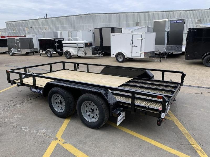 2020 Sure-Trac 7 X 14' Tube Top Utility Trailer