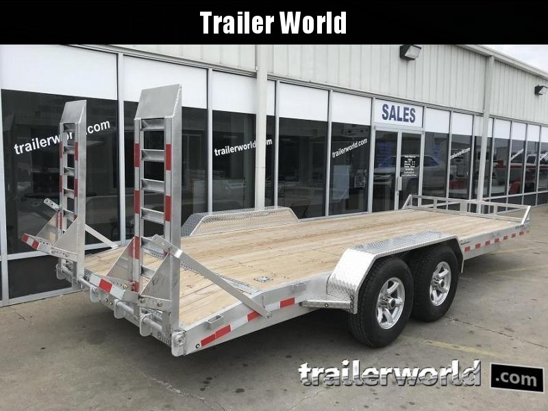 2019 Sundowner APU20BP 20' Aluminum Equipment Trailer