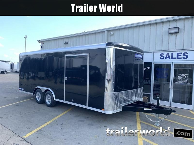 2019 Sure-Trac 20' Pro Series Round Top Car Hauler Trailer 10K