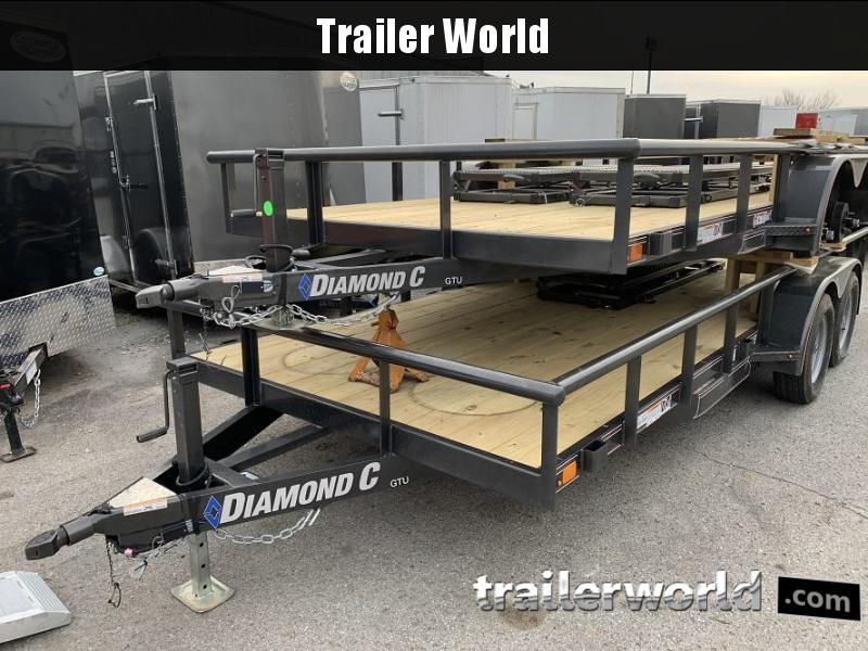 2020 Diamond C Trailers GTU 18 Utility Trailer