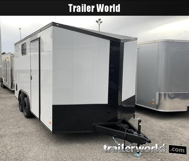 2020 CW 8.5' x 16' x 7' Tall Vnose Enclosed Cargo Trailer Camper Prep Pkg