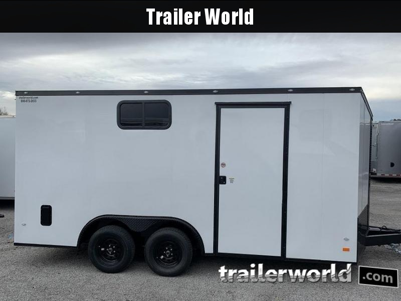 2020 CW 8.5' x 16' x 7' Tall Vnose Enclosed Cargo Trailer Camper Prep Pkg