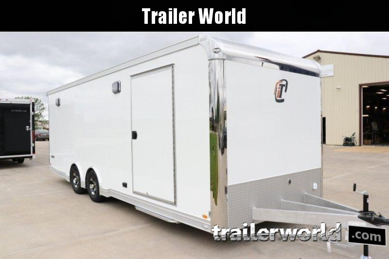2020 inTech 24' iCon Aluminum Show Car Trailer Full Access Door