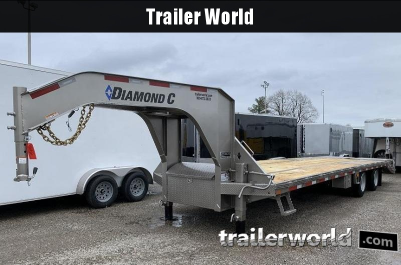 2020 Diamond C Trailers FMAX216-30' Gooseneck Equipment Trailer