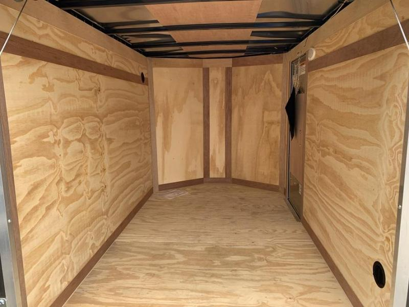 2020 Continental Cargo 5' x 8' x 4.5' V nose Enclosed Cargo Trailer