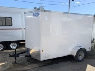 2020 Continental Cargo 6' x 10' x 6.3' Enclosed Cargo Trailer