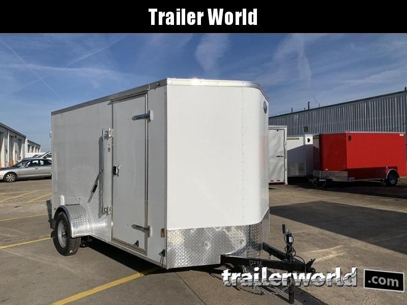 2020 Continental Cargo 6' x 10' x 6.3' Enclosed Cargo Trailer