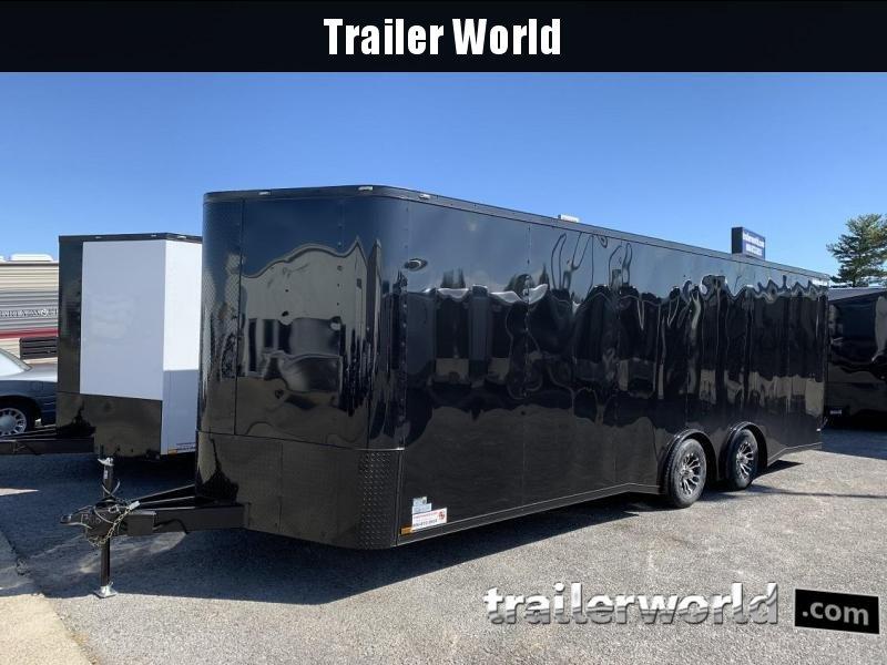 2020 24' Spread Axle Car Black-out Trailer 10k GVWR