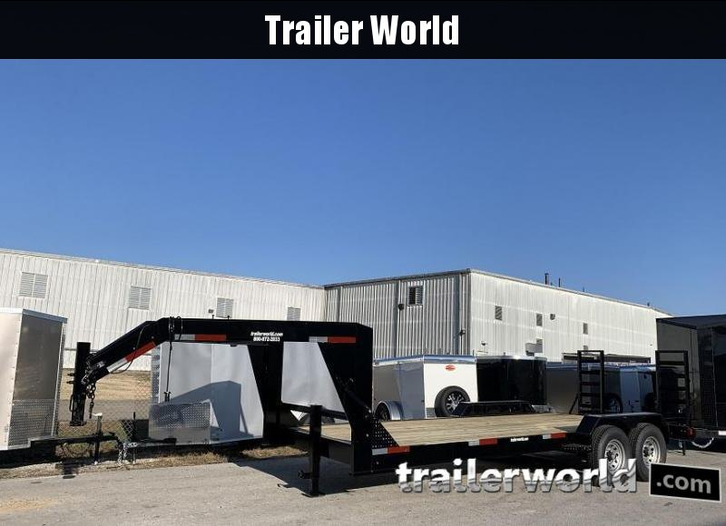 2020 Circle W 20 Gooseneck Equipment Trailer