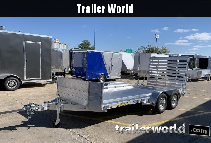 2020 Aluma 7816B 16'  Aluminum Open Utility Trailer