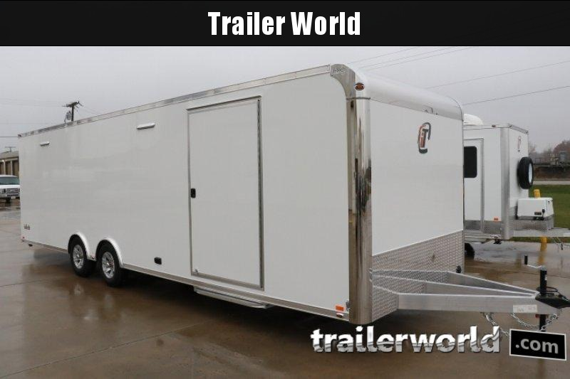 2020 inTech  28' Aluminum Enclosed Race Trailer