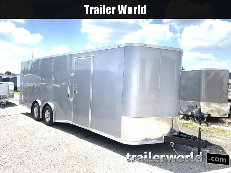 2020 CW 24' Spread Axle Car Trailer 7' Tall 10k GVWR