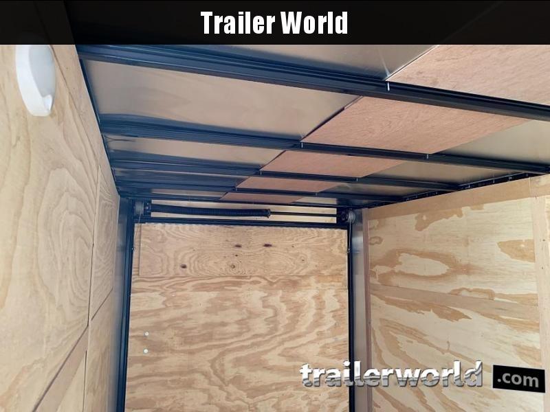 2020 Continental Cargo 7' x 14' x 6.3' Vnose Enclosed Cargo Trailer Black-Out Trim