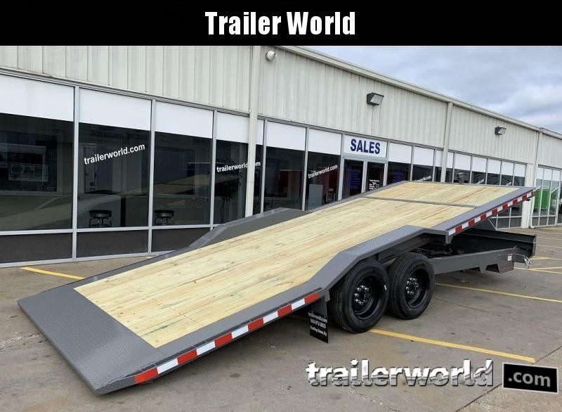 2020 Midsota TBWB-22 Power Tilt 8 Ton Equipment Trailer
