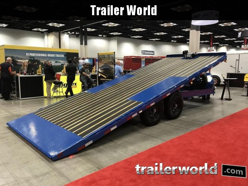2019 Big Tex 14OT- 22' Hydraulic Tiltbed Equipment Trailer