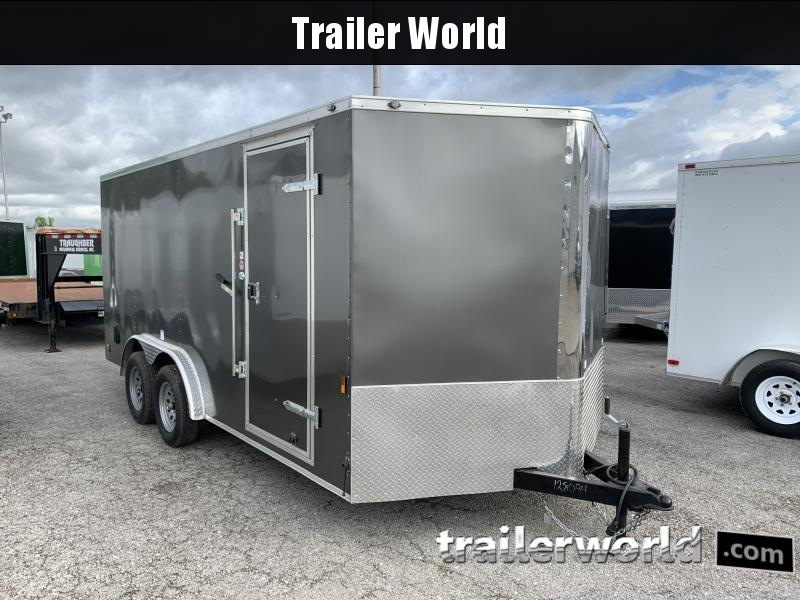 2021 Continental Cargo 7.5' x 16' x 6.3' Enclosed Cargo Trailer