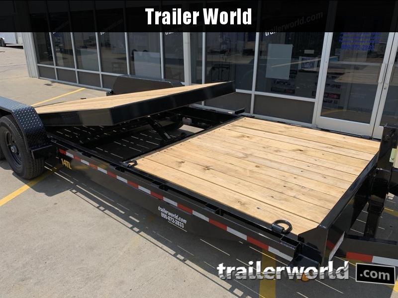 2020 Big Tex 14TL-22' 16' Tilt + 6' Equipment Trailers