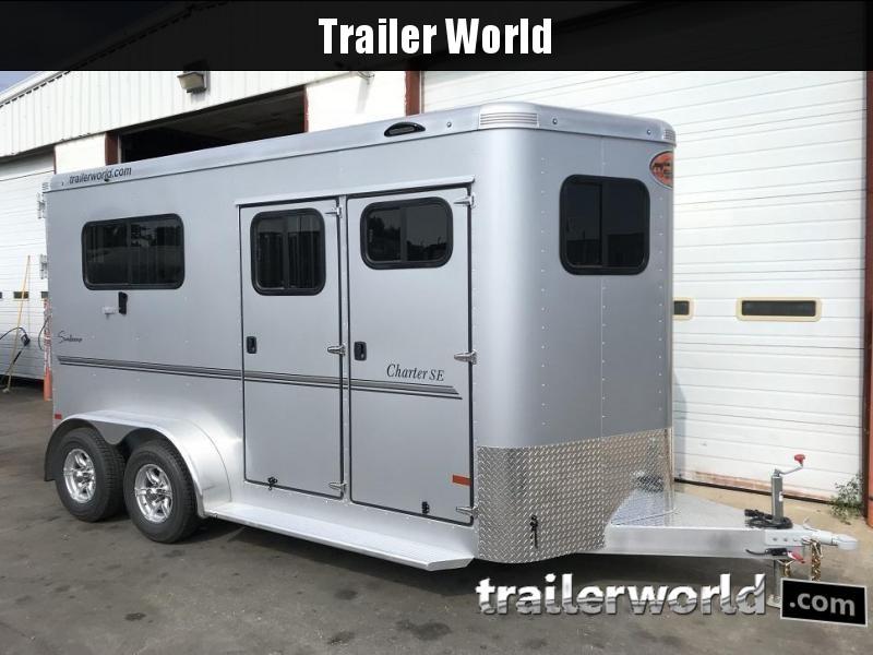 2019 Sundowner Charter TR SE 2 Horse Bumper Pull Trailer