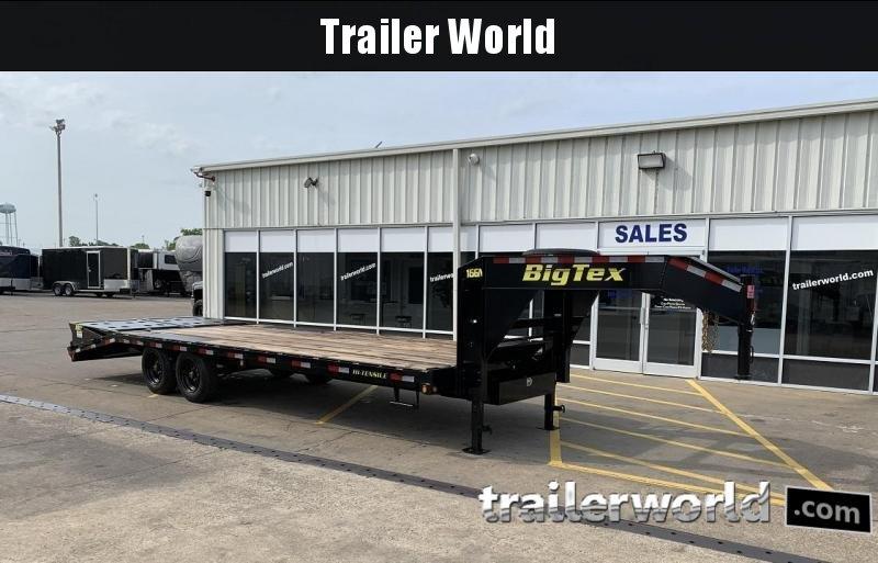 2019 Big Tex Trailers 22gn 20 5 Gooseneck Flatbed