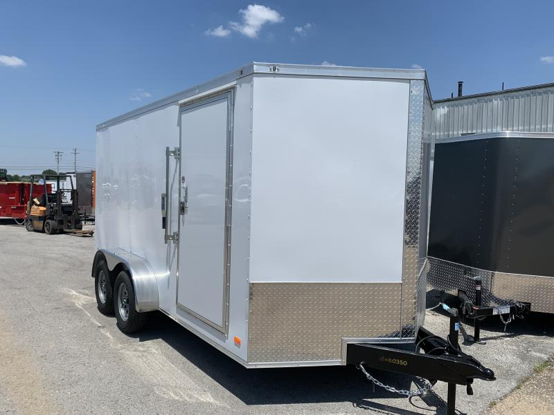 2020 CW 7' x 14' x 6.5' Vnose Enclosed Cargo Trailer