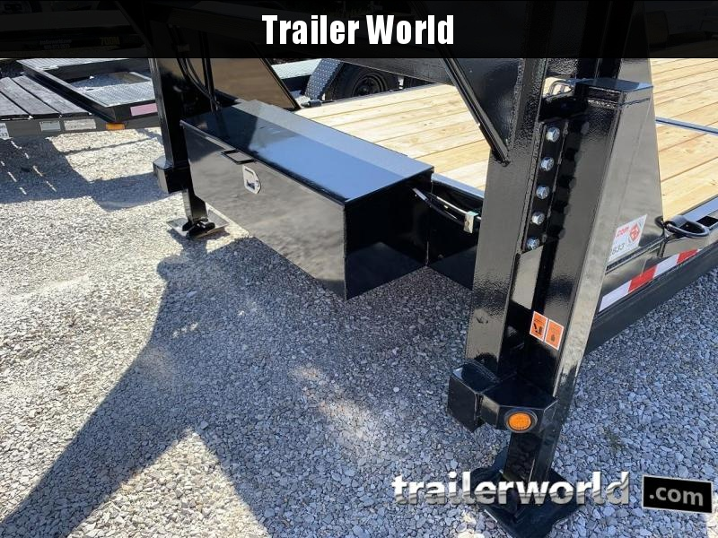 2020 Big Tex 14TL 22' Flatbed Gooseneck 16' Tilt + 6' Equipment Trailer