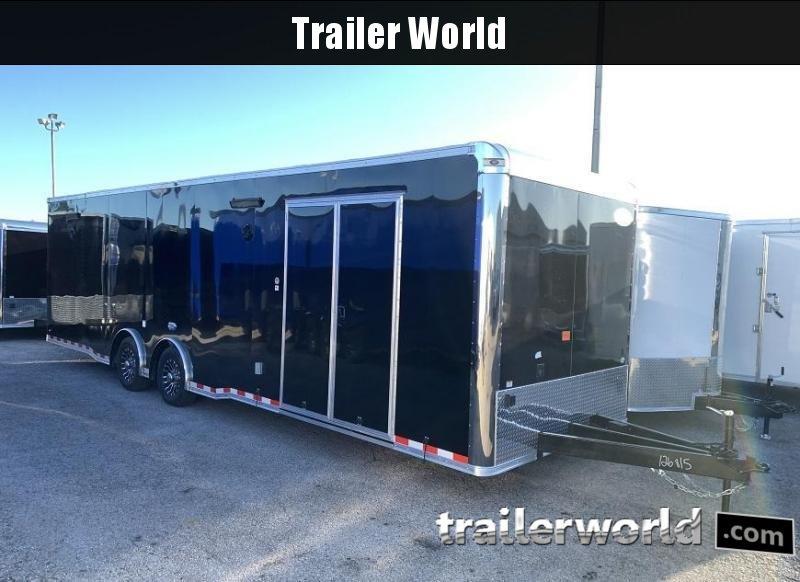 2020 Continental Cargo 30' Race Trailer Spread Axles