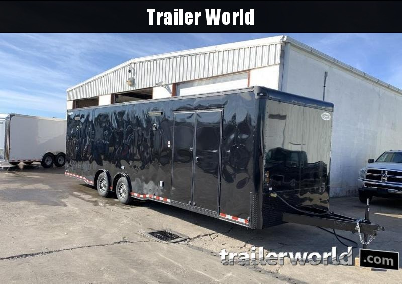 2020 Continental Cargo 30' Black Out Race Trailer Spread Axles