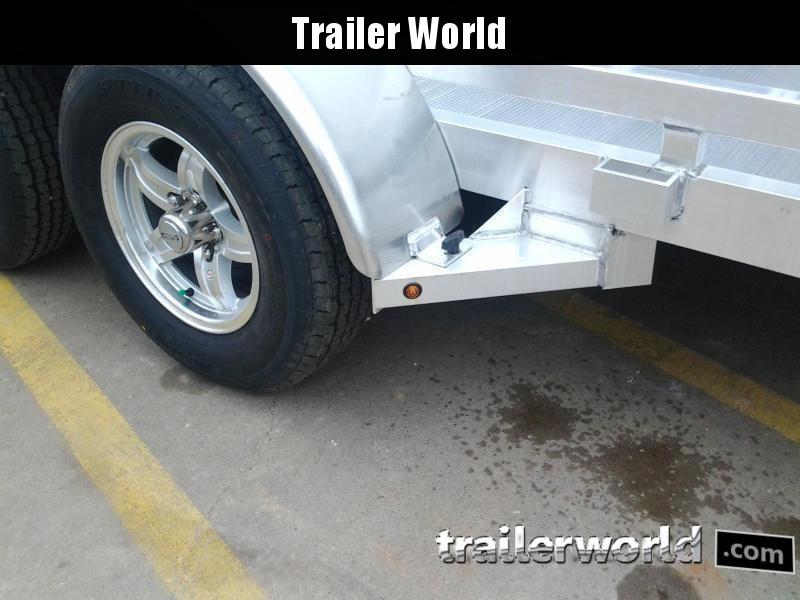 2021 Aluma 7816R 16'  Aluminum Open Utility Trailer