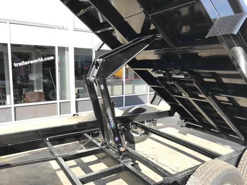 2020 Sure-Trac 16' Dump Trailer Scissor 14k GVWR