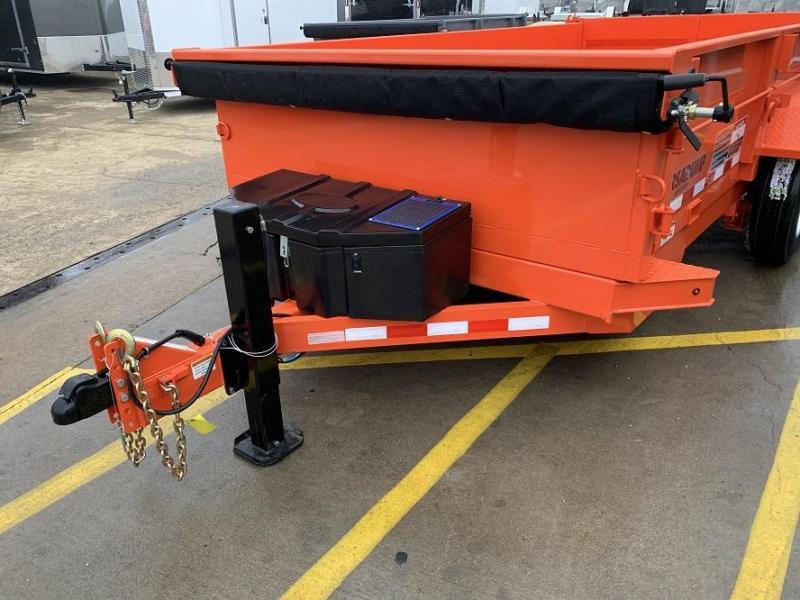 2020 Midsota HV-14' Dump Trailer 17,600 GVWR