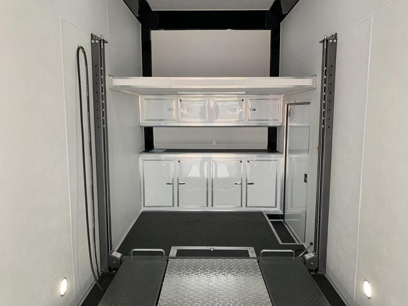 2020 Cargo Mate Aluminum 30' Stacker Race Trailer