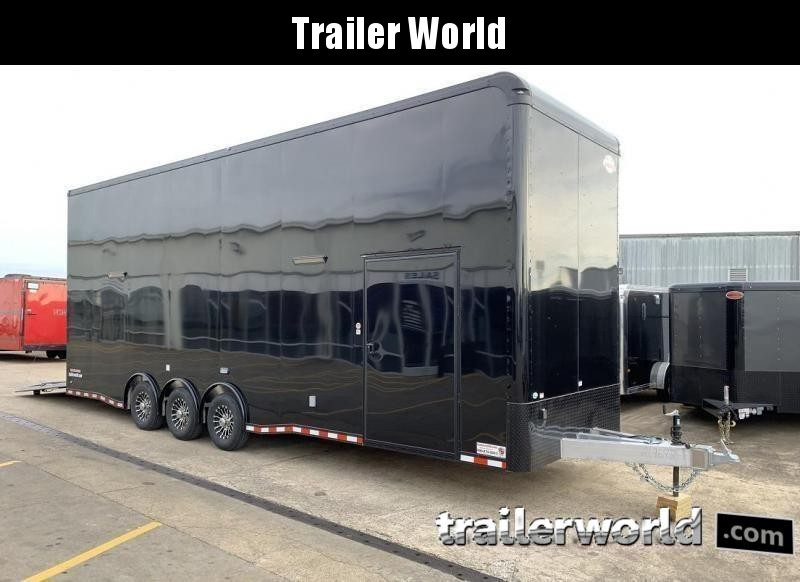 2020 Cargo Mate Aluminum 30' Stacker Race Trailer