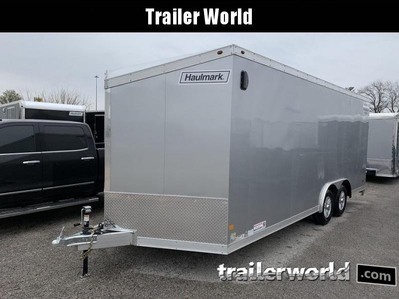 2019 Haulmark 20' x 7' Tall Aluminum Enclosed Car Trailer 10k GVWR