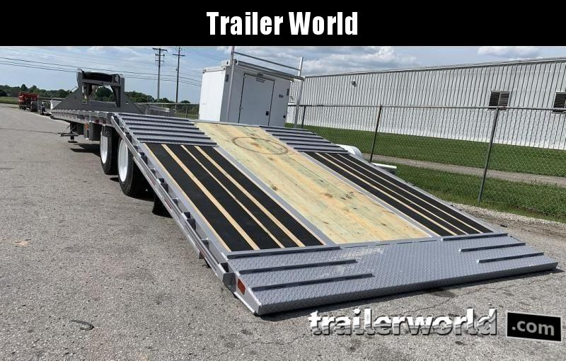 2020 Diamond C FMAX212 40' Hydraulic Dovetail Air Ride Trailer