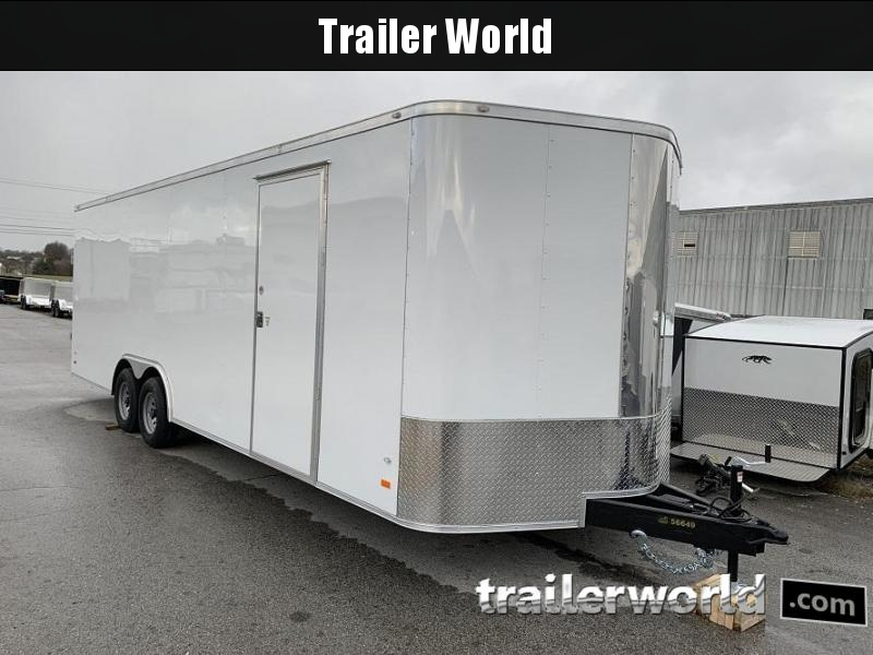 2020 CW 24' Enclosed 7' tall Car Trailer 10k GVWR