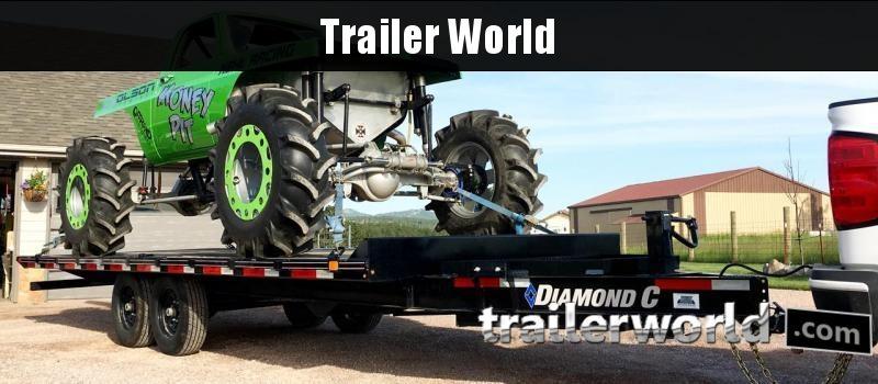 2020 Diamond C DET 102 x 22' Deckover Power Tilt  BP 15K GVWR