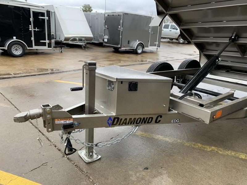 2020 Diamond C EDG 5' x 10' Dump Trailer