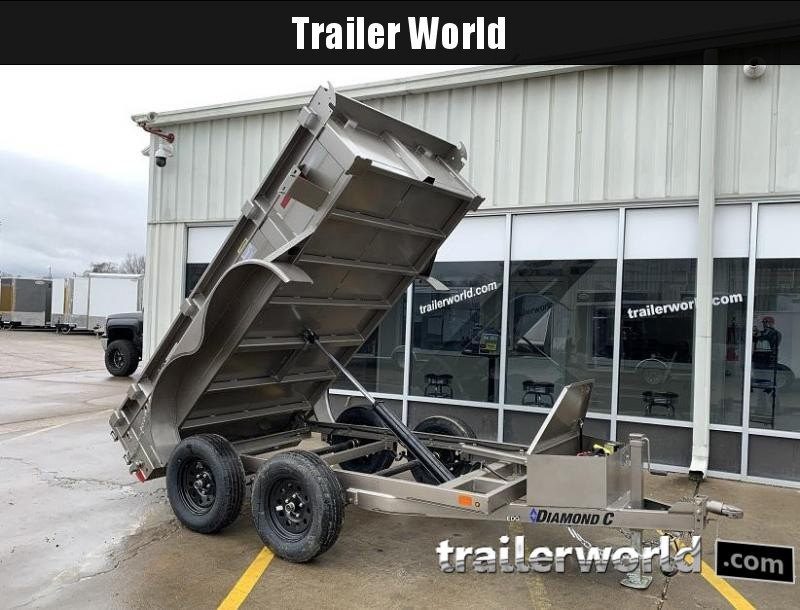 2020 Diamond C EDG 5' x 10' Dump Trailer