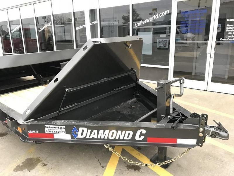 2020 Diamond C HDT 22' Tilt-Bed Equipment Trailer 8 Ton