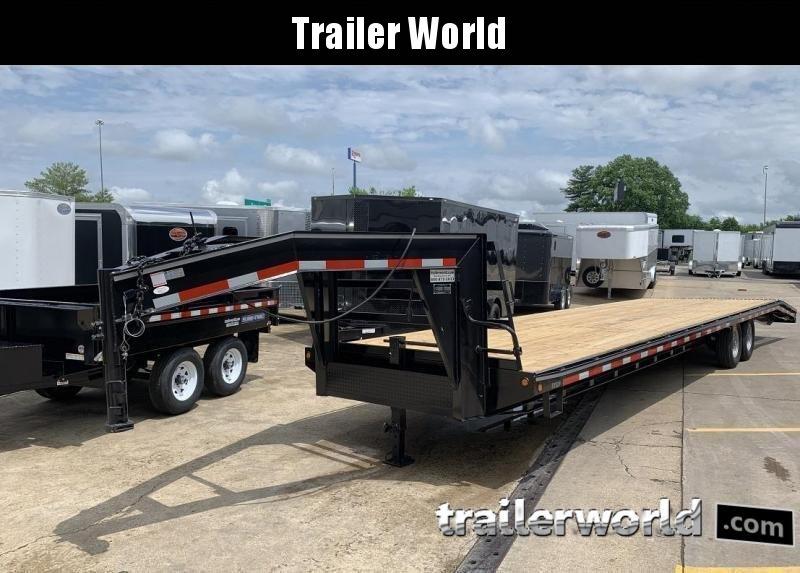 2019 Better Built 36'   7 Ton Gooseneck Flatbed Trailer