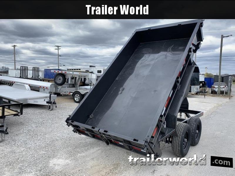 2020 Diamond C EDM 77 x 12' Dump Trailer 10k GVWR