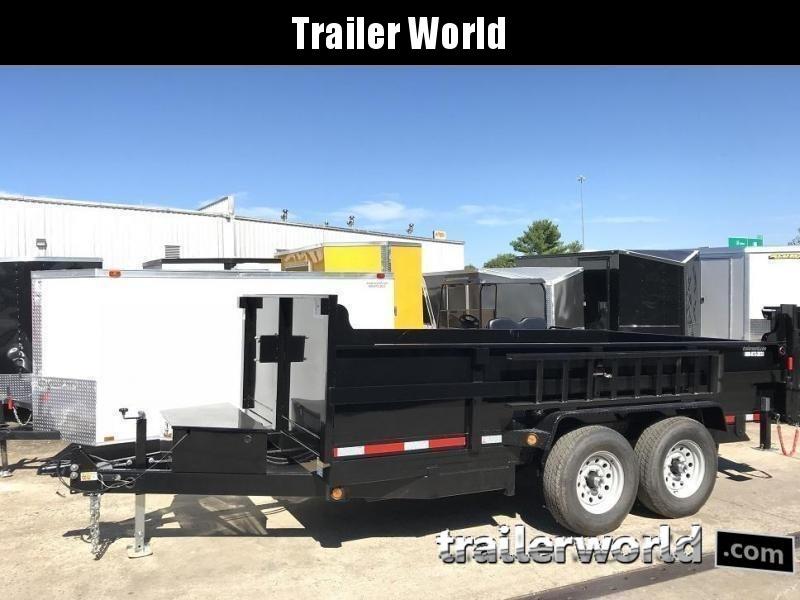 2020 QS 14' Dump Trailer 14K GVWR