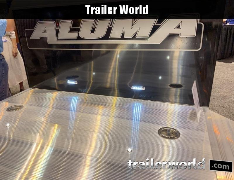 2020 Aluma 8220 XL Executive Aluminum Open Car Trailer
