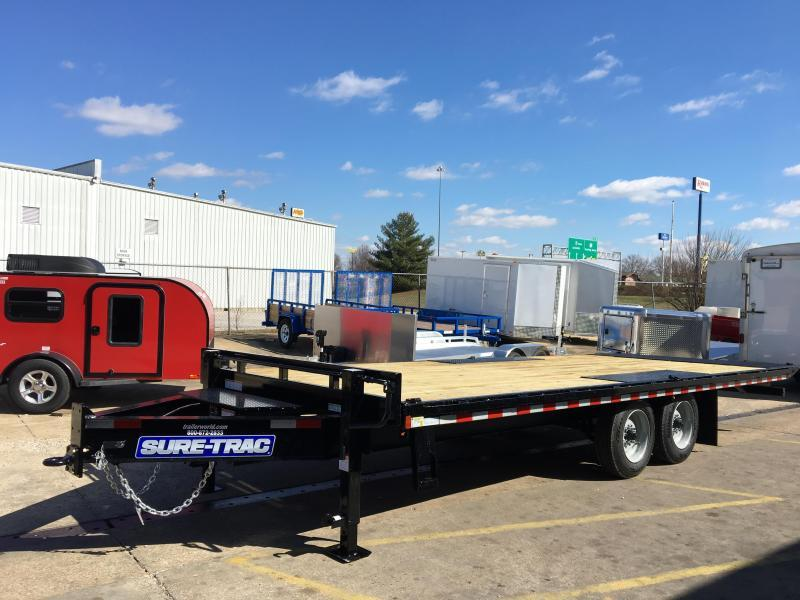 2020 Sure-Trac 22' Deck Over Tiltbed Equipment Trailer 17.5k GVWR