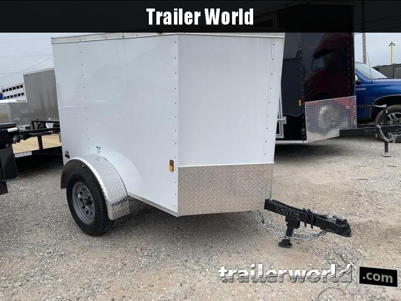 2020 Continental Cargo 4x6 Enclosed Cargo Trailer