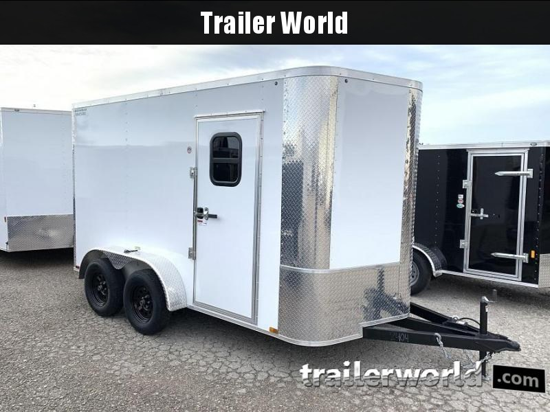 2020 Arising 7 x 14 x 7 Enclosed Cargo Trailer w/ Windows
