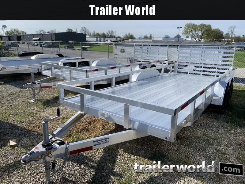 2019 Trailer World Aluminum 22' Utility Trailer