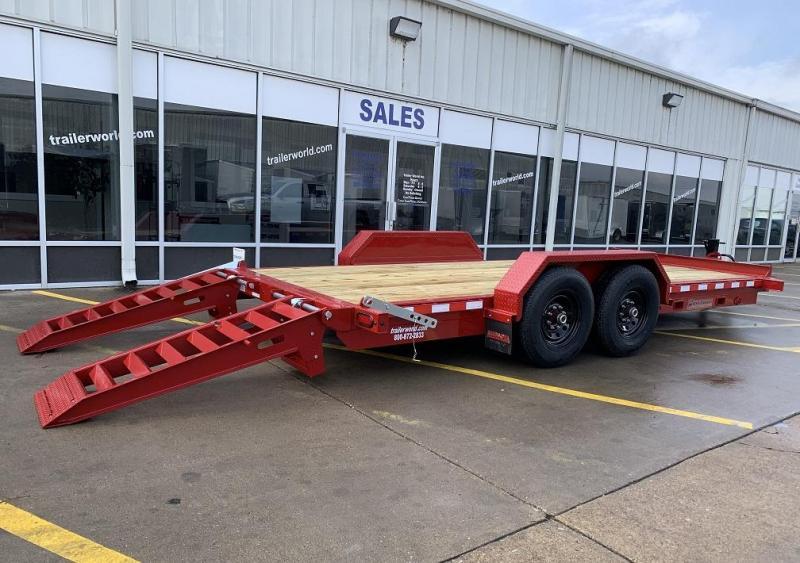 2020 Midsota ST-18 Equipment Skid Steer Trailer 15400lb GVWR