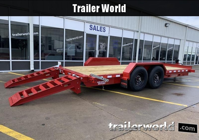 2020 Midsota ST-18 Equipment Skid Steer Trailer 15400lb GVWR