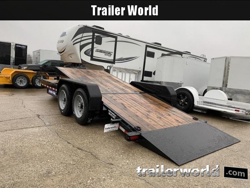 2020 Sure-Trac 16 + 4 Tilt Bed Equipment Trailer 16K GVWR